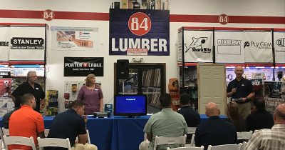 84 Lumber hosts educational workshops after Hurricane Harvey