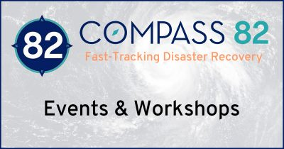 Compass 82 Educates and Advocates about disaster recovery.